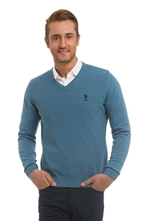U.S.Polo Assn. Kazak Mavi